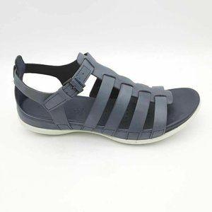 ECCO Womens Flash Gladiator Sandals Gray 39 New